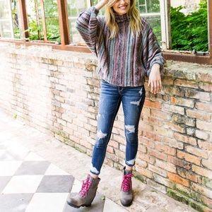 🆕 SOREL gray wedge waterproof ankle boots booties